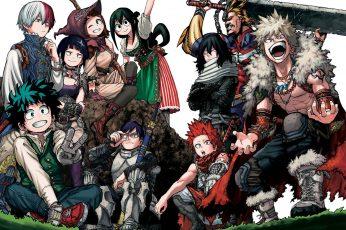 Boku No Hero Academia Digital Wallpaper, Anime