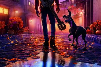 Wallpaper Coco Movie Clip, Disney Pixar, Movies, Colorful
