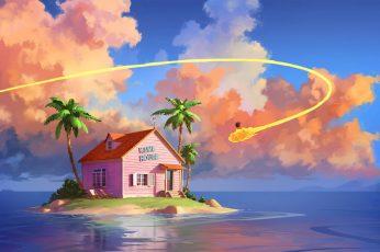 Wallpaper Digital Art, Son Goku, Dragon Ball, Dragon Ball