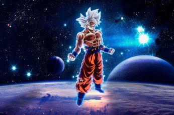 Wallpaper Dragon Ball, Dragon Ball Super, Goku, Ultra Instinct