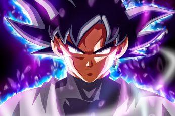Wallpaper Dragon Ball, Dragon Ball Super, Son Goku, Black
