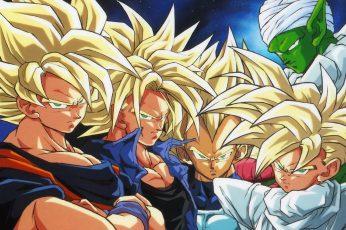 Dragon Ball Wallpaper, Dragon Ball Z, Super Saiyan