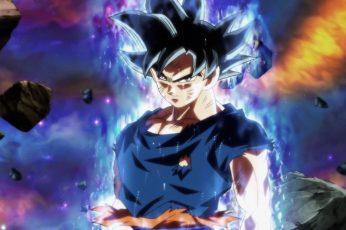 Wallpaper Dragonball Son Goku, Dragon Ball Super, Ultra Instinct