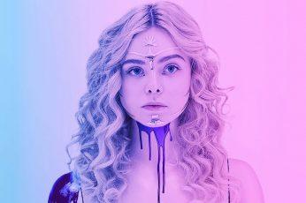 Wallpaper Elle Fanning, The Neon Demon, Blonde, Actress