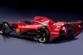 Wallpaper Ferrari, Ferrari F1 Concept, Formula One