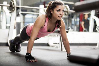 Wallpaper Fitness, Sportswear, Exercise, Girl, Workout