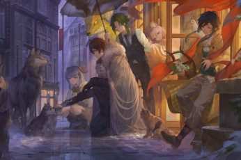 Wallpaper Genshin Impact, Anime, Anime Boys, Anime Girls