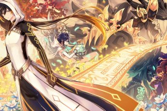 Wallpaper Genshin Impact, Zhongli Genshin Impact