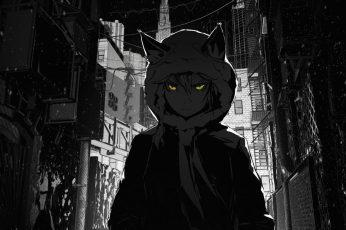 Wallpaper Male Anime Character Illustration, Anime