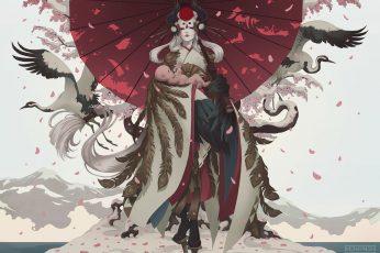 Wallpaper Mask, Oni