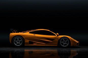 Wallpaper Mclaren, Orange Cars, Supercars, Mclaren F1 Lm