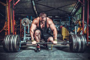 Wallpaper Mens Black Tank Top, Weightlifting, Gyms