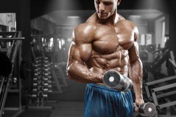 Wallpaper Mens Blue Bottoms, Man, Workout, Gym, Working