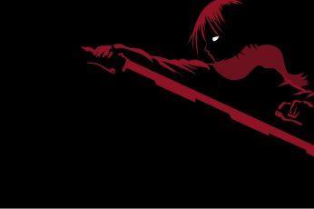 Wallpaper Minimalism, Anime Girls, Anime, Mikasa Ackerman