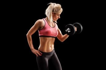 Wallpaper Muscle, Gym, Fitness, Dumbbell, Black And Silver