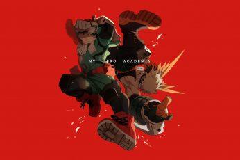 Wallpaper My Hero Academia Characters, Anime, Boku No Hero