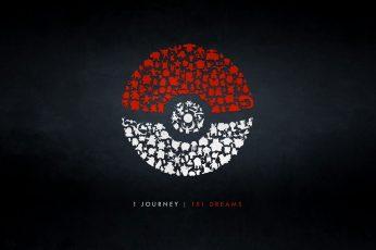 Wallpaper Pokémon, Poké Balls, Quote, Indoors, Creativity
