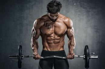 Wallpaper Pose, Muscle, Rod, Press, Athlete, Bodybuilder
