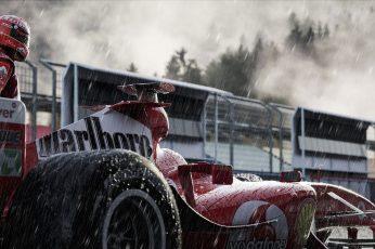 Wallpaper Racing, F1, Ferrari, Michael Schumacher, Race Car