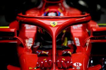 Wallpaper Red Ferrari Formula 1 Race Car, Ferrari Sf71h