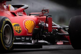 Wallpaper Sebastian Vettel, Ferrari F1, Formula 1, Race