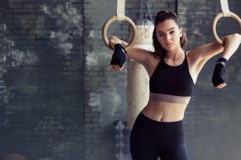 Wallpaper Singer, Fitness Model, Gym Clothes, Women