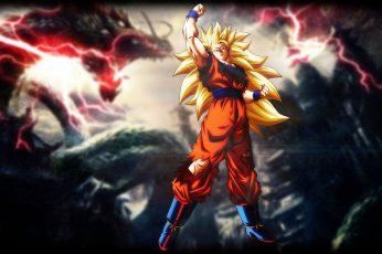 Wallpaper Son Goku 3, Dragon Ball, Dragon Ball Z Kai, Vegeta