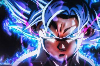 Wallpaper Son Goku, Dragon Ball, Ultra Instinct