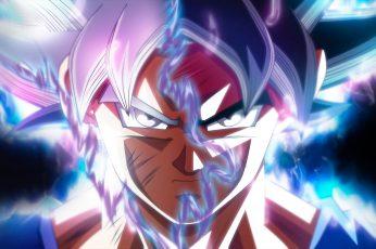 Wallpaper Son Goku Ultra Instinct, Dragon Ball, Ultra Instinct