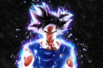 Son Goku Wallpaper, Dragon Ball Super, Ultra Instinct
