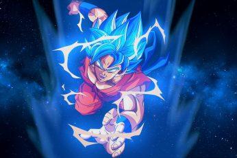Super Instinct Son Goku Wallpaper, Dragon Ball