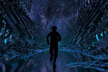 Wallpaper Vaporwave, Cyberpunk, Synth, Synthwave, 4k