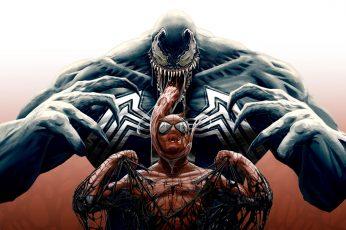 Wallpaper Venom, 4k, Spider Man, Marvel Comics, Superhero