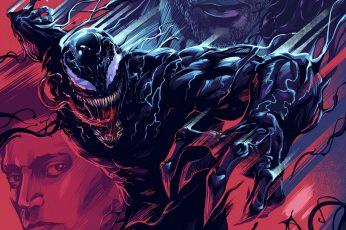 Wallpaper Venom, Artwork, Representation, Animal