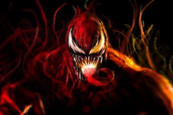 Wallpaper Venom Illustration, Art, Marvel Comics, Symbiotic