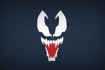 Wallpaper Venom Illustration, Marvel Comics, Spider Man
