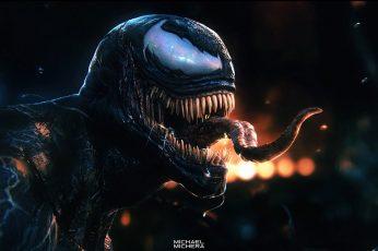 Wallpaper Venom, Superheroes, Hd, Artstation, Supervillain