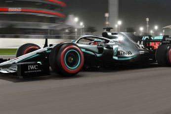 Wallpaper Video Game, F1 2019, Mercedes Amg F1 W10 Eq Power