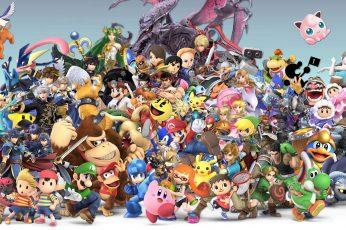 Wallpaper Video Game, Super Smash Bros. Ultimate, Bowser