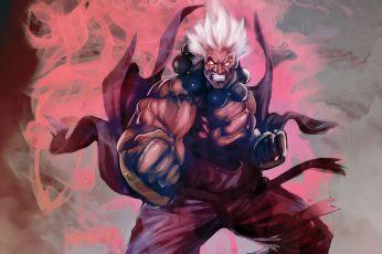 Wallpaper Video Games Street Fighter Oni Rage Akuma Artwork