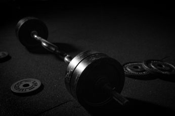 Wallpaper Weight Training Exercise Workout Equipment In Gym