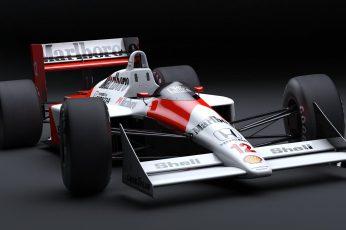 Wallpaper White And Red Marlboro Formula 1 Car Wallpaper