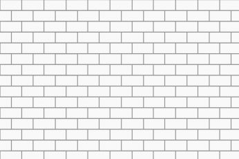 Wallpaper White Brick Illustration, Digital Art, Minimalism