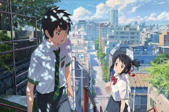 Wallpaper Your Name Artwork, Anime, Anime Girls, Kimi No Toriko