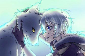 Blue Eyes Fushi Joan To Your Eternity, Hd Wallpaper Free