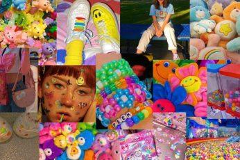 Kidcore Collage Wallpaper