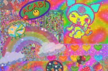 Kidcore , Colorfull, Hd Mobile Wallpaper Free Download