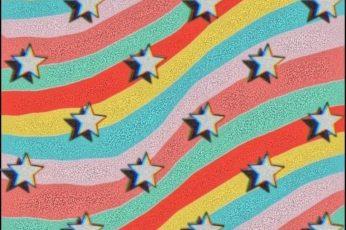 Kidcore Wallpape , Rainbow, Star, Hd Mobile Wallpaper