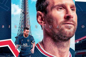 Wallpaper Messi PSG