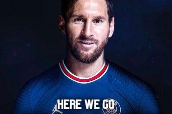 Messi paris saint germain wallpaper 4k